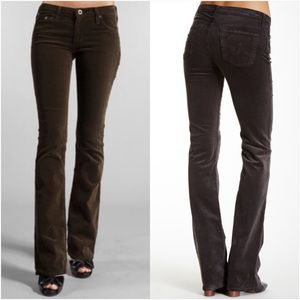 Ag Adriano Goldschiemd Cord Angel Pants Size 31R